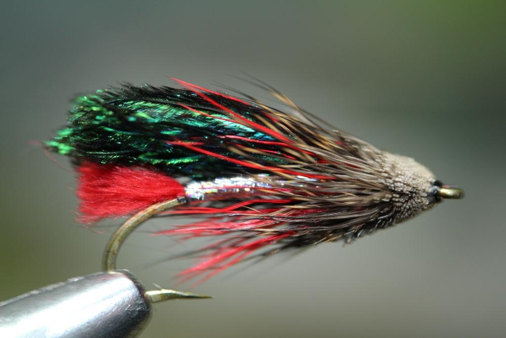 Muddler bakslengen for Fly fishing tying